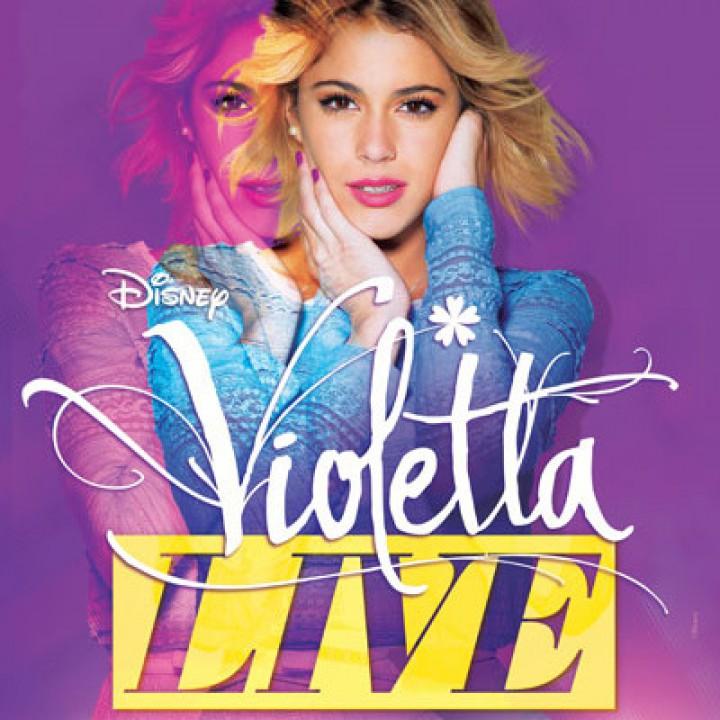 VIOLETTA LIVE EUROPEAN TOUR