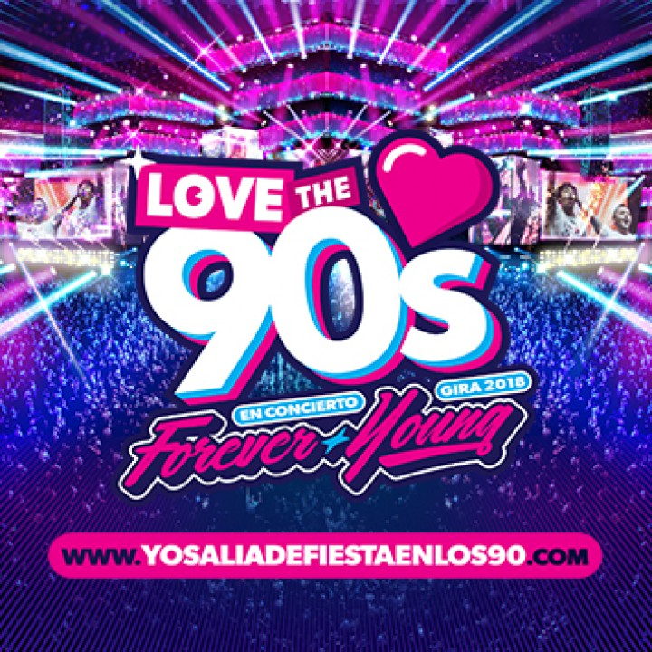 Love the 90's Forever Young Gira 2018